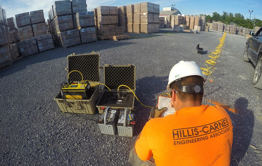 Hillis Carnes does soil testing for construction sites and environmental analyses of properties for real estate deals. (Courtesy Hillis-Carnes)