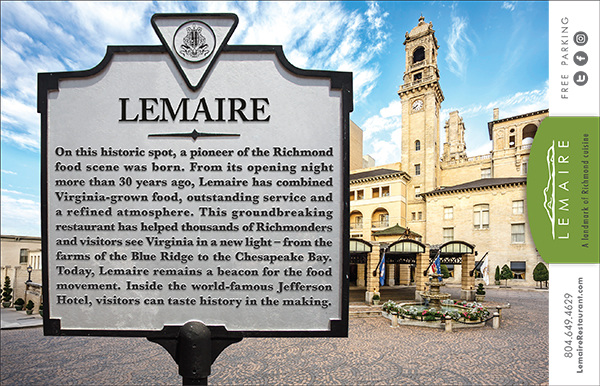 Ndp created an ad for Lemaire that is appearing in local and state publications.