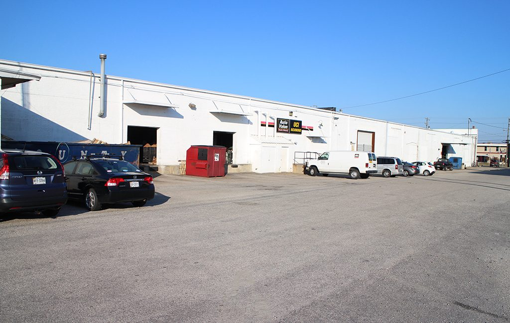 The 10,450-square-foot warehouse and distribution facility at 2522 Hermitage Road. (J. Elias O'Neal)