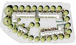 Site plan courtesy Oliver Properties.