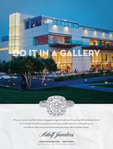 "Barber Martin Agency's campaign encourages audiences to ""do it,"" meaning ""propose,"" at various locations around Richmond, like the VMFA. (Courtesy Barber Martin)"
