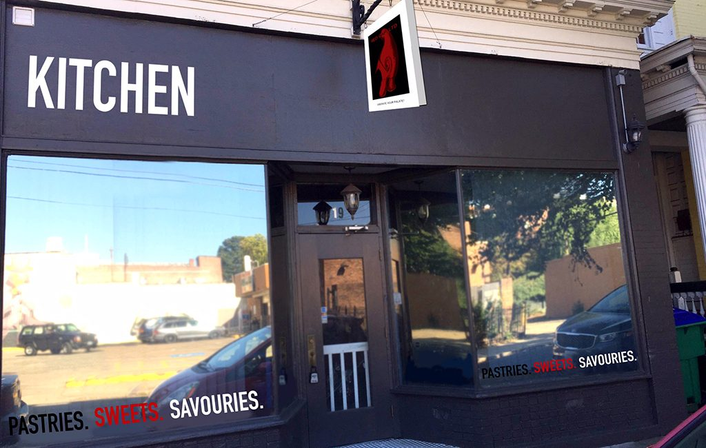A rendering of the upcoming storefront at 719 N. Meadow St. in the Fan. (Courtesy Red Cap)