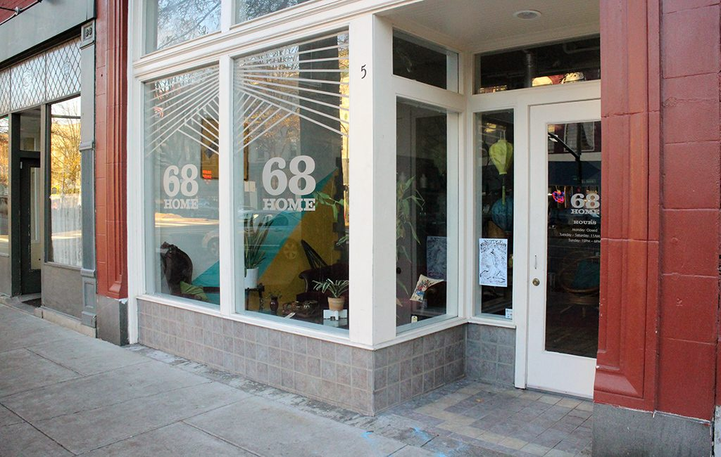 68 home opened this month in a storefront at 5 W. Broad St. (Mike Platania)