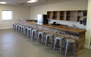 Cirrus Vodka is opening a taste room at its distillery at 1603 Ownby Lane near The Diamond. (J. Elias O'Neal)