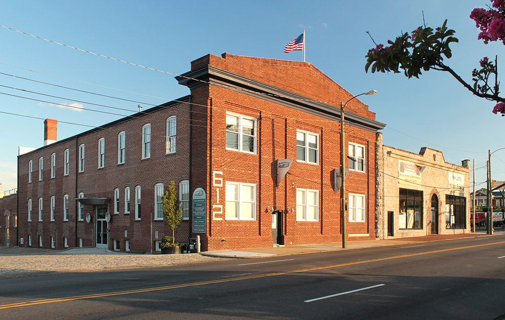The Manchester Pie Factory building at 612 Hull St. in the Manchester neighborhood sold for about $2.2 million. (Kevin Jones Photography)