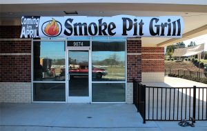 Smoke Pit Grill is set to open in the Staples Mill Marketplace Shopping Center at 9074 Staples Mill Road. (J. Elias O'Neal)