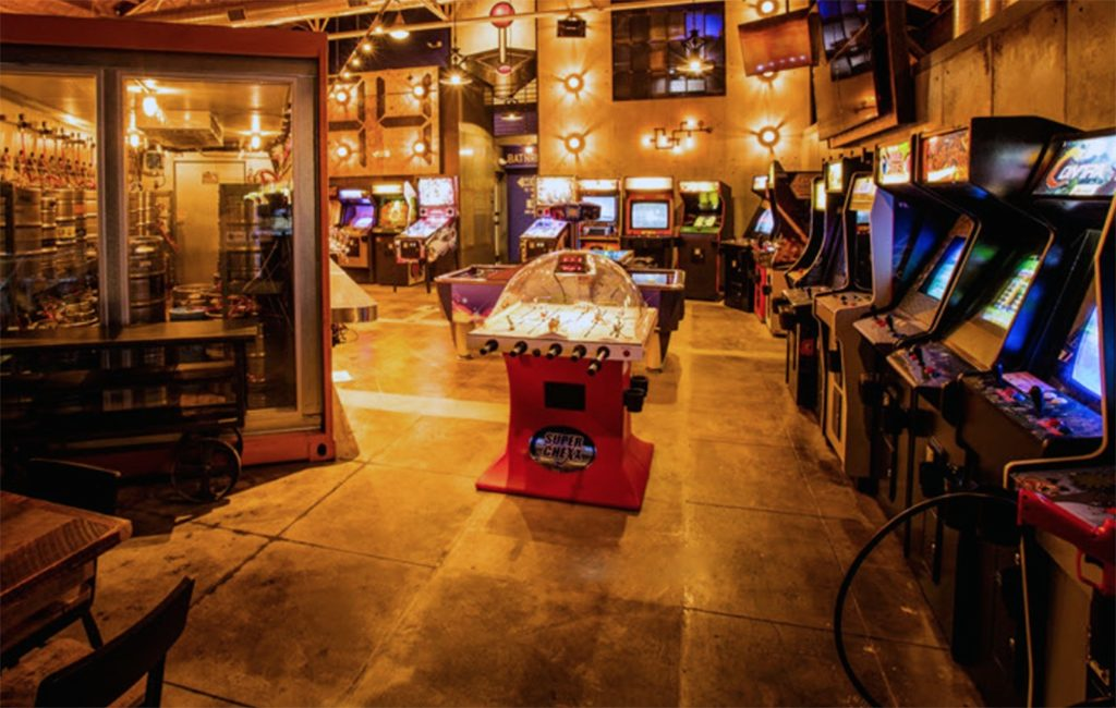 Robert Lupica's barcade is slated to host over 70 vintage pinball and arcade games.