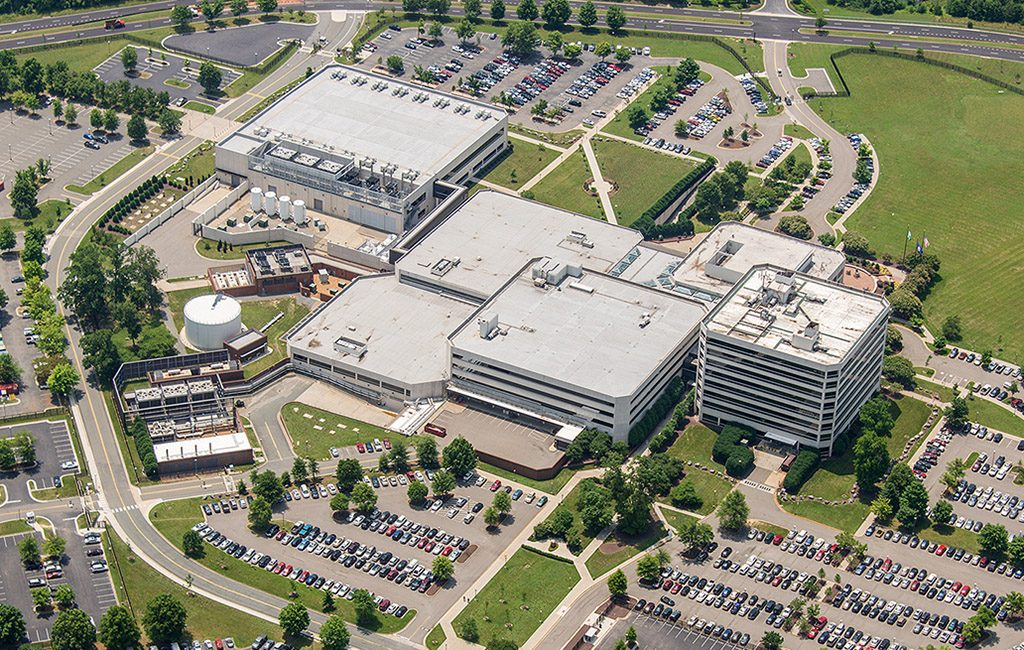 The 46-acre, five-building operations center at 8011 Villa Park Drive was purchased for $38 million. (Courtesy Cushman & Wakefield | Thalhimer)