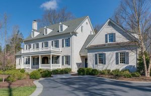 The home, beside the Country Club of Virginia's James River Course, was listed for $1.85 million. (Courtesy CVRMLS)