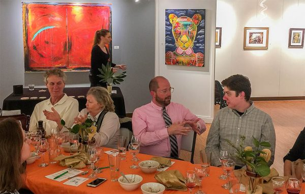 EAT Foundation members at an event atCrossroads Art Center in Richmond. (Courtesy EAT Foundation)
