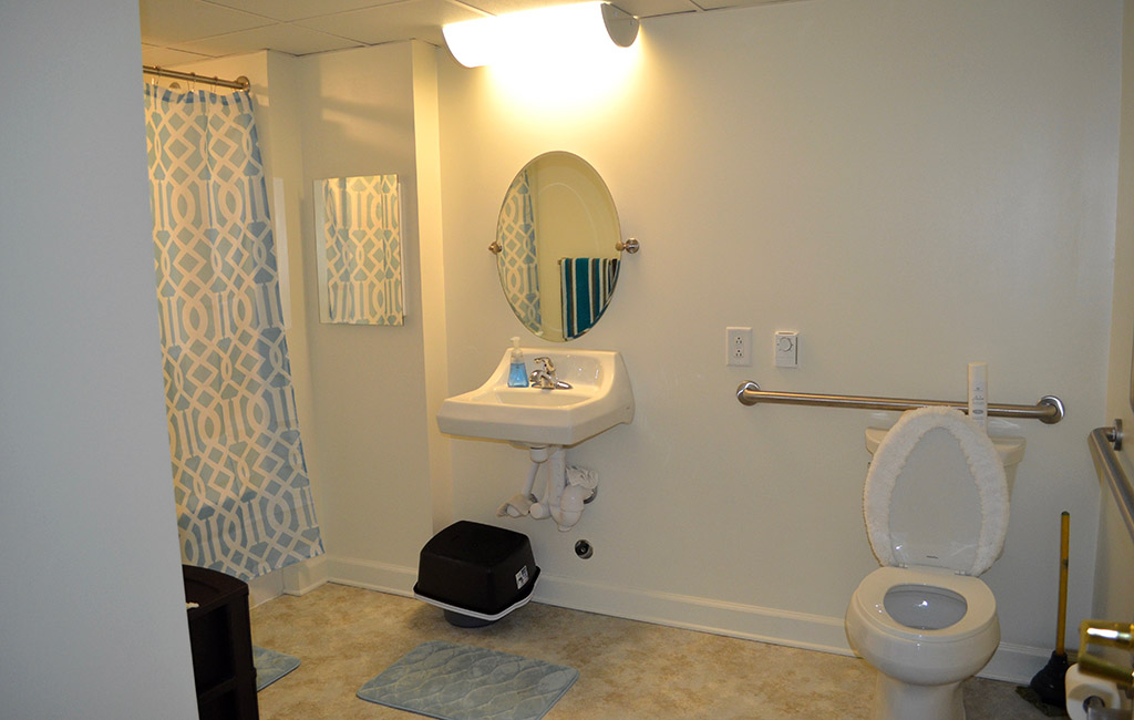 Units Now Feature An Ada Compliant Toilet New Faucets Windows Blinds