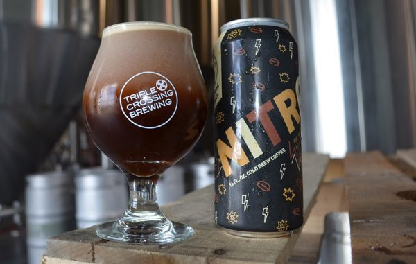 Black Hand and Triple Crossing partnered to create Nitro Cold Brew. (Courtesy Triple Crossing)