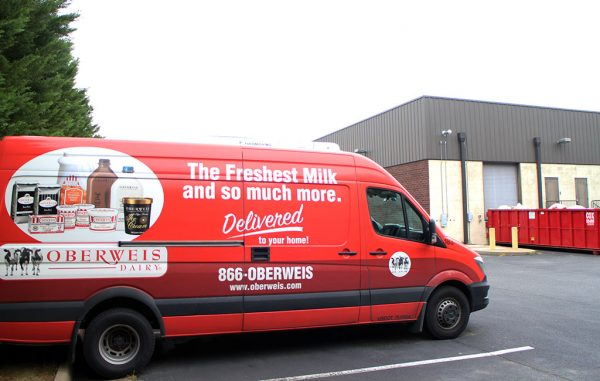 Oberweis will send milk trucks from 12,000 square feet of warehouse space in Midlothian. (Mike Platania)