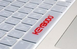 Keybodo won first place and $3,500 for a keyboard cover with raised letters. (University of Richmond)