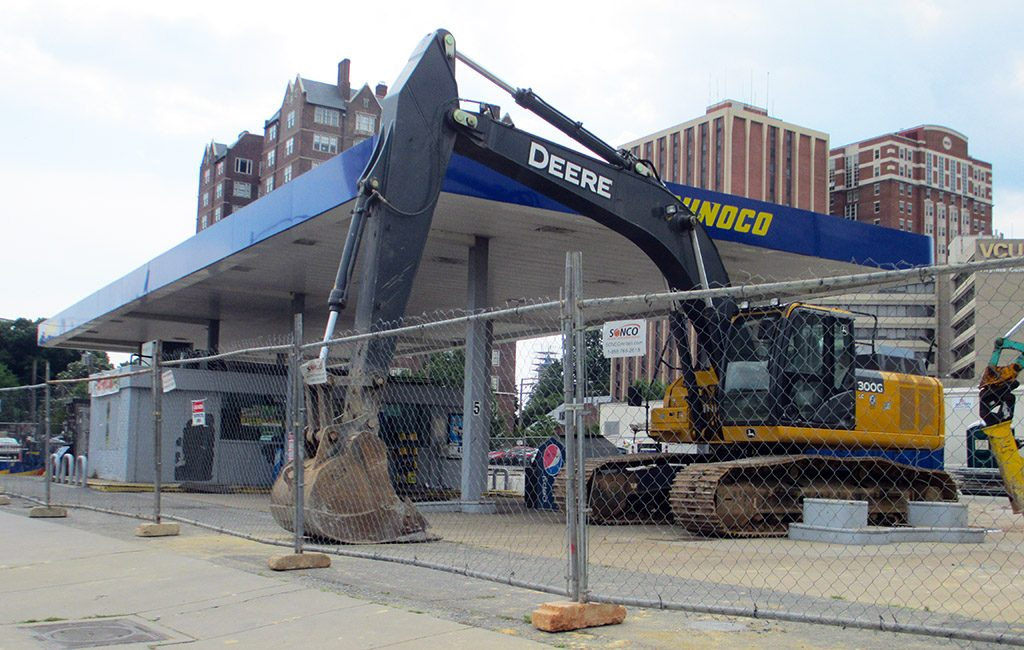sunoco demolition
