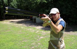 Bruffy uses her own shotgun, a Browning Citori 12-gauge over/under. (Jonathan Spiers)