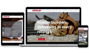 Circle S studio redesigned the website for Kinsley Construction.