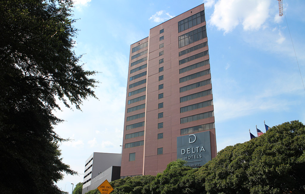 The Former Crowne Plaza Richmond At 555 E C St Was Rebranded To Delta