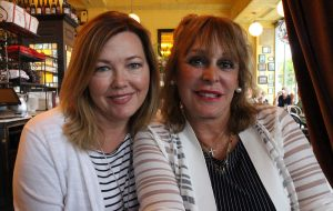 Susan Stynes and Debbie Johnson.