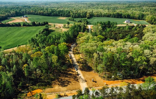 The subdivision sits on 128 acres, 3 miles east of Goochland High School. (Main Street Homes)