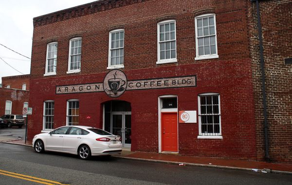 aragon coffee building