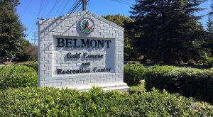 belmont golf course sign