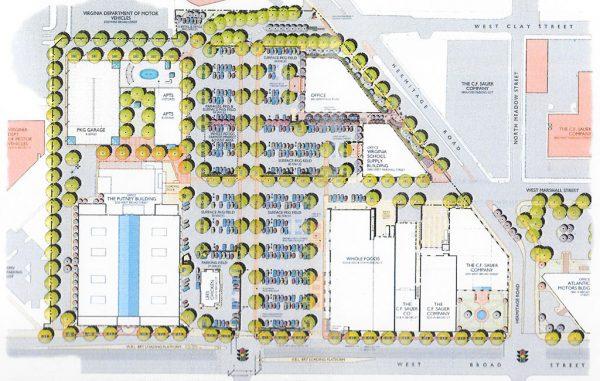 sauer center siteplan