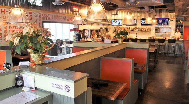 burger bach interior