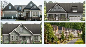 single-family home renderings
