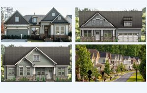 single-family home renderings