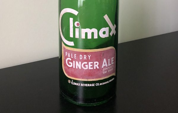 climax ginger ale bottle