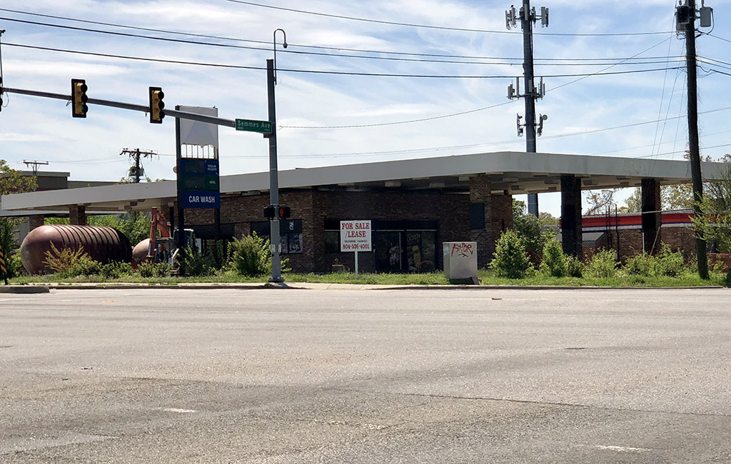 Former gas station, Chinese restaurant sites under contract in