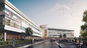 rehab institute rendering