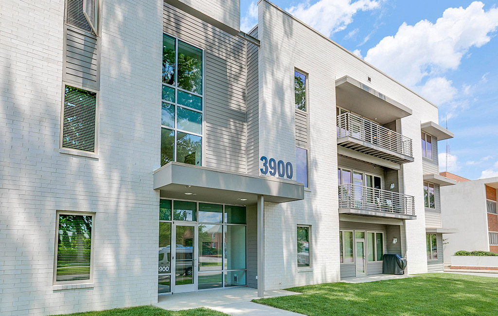 The Recently Completed Apartment Building At 3900 Monument Ave Courtesy Mindie Ballard