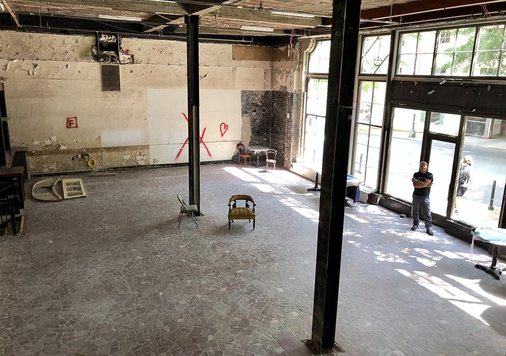 Mini-golf venue planned for rehabbed Hotel John Marshall