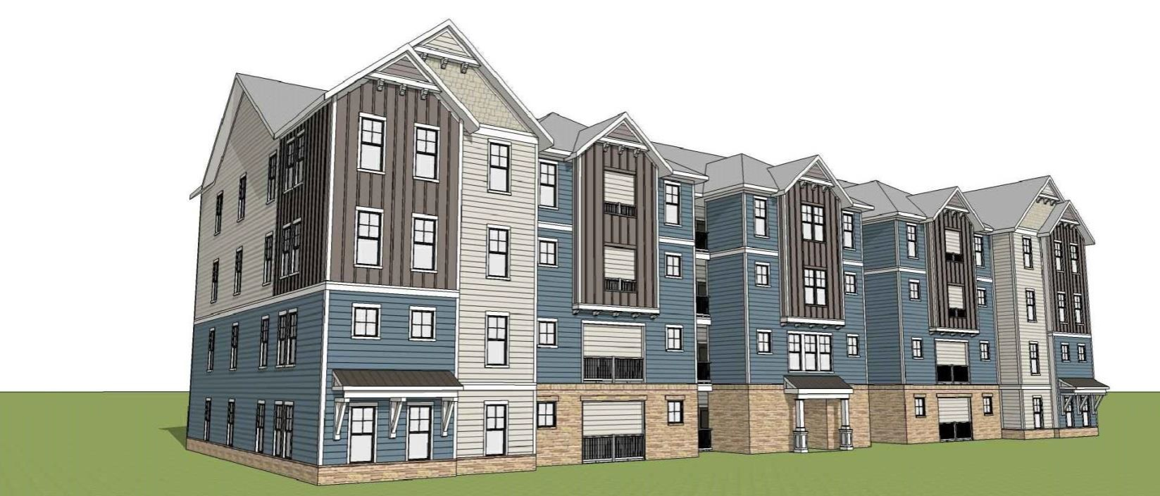 Updated Construction Underway On 40m Magnolia Green Apartments
