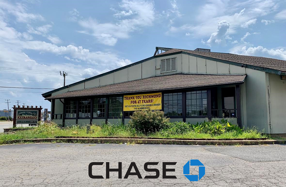 Chase Bank eyes first local branch atop former Extra Billy's site
