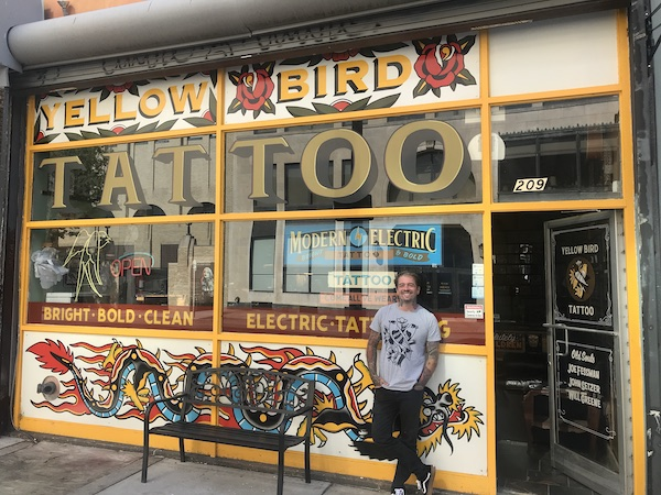 Downtown Tattoo Shop Looks To Make Its Mark In The Fan