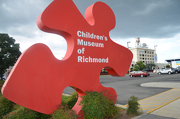 The main Children's Museum of Richmond location on West Broad Street. (Photo by Mark Robinson)