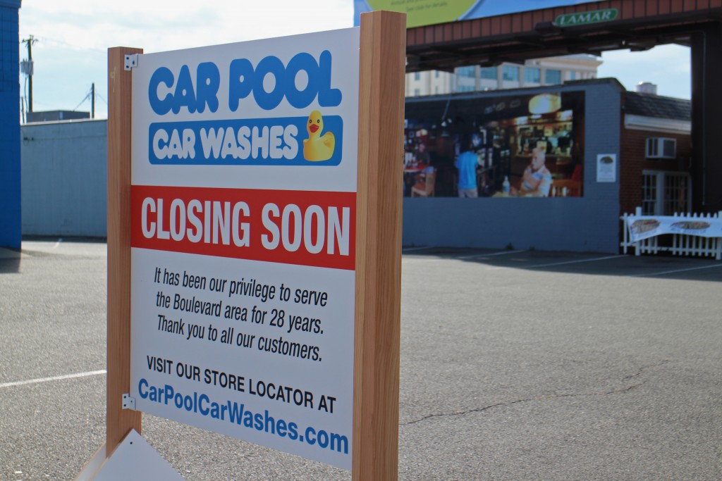 Car Pool on Boulevard will soon be shutting down. Photos by Michael Thompson.