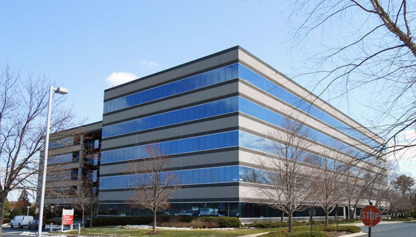 The 383,000-square-foot Deep Run III building in Henrico. (Photo by David Larter)