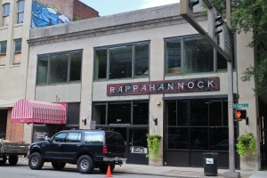 Rappahannock's first restaurant downtown at 320 E. Grace St. (Michael Thompson)