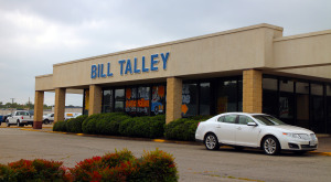 Lidl plans to demolish a Bill Talley Ford dealership to build a new store there.Photo by Burl Rolett.