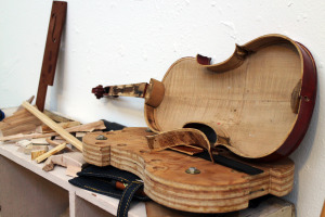 Birce will also remake and sell violins at Four Strings.