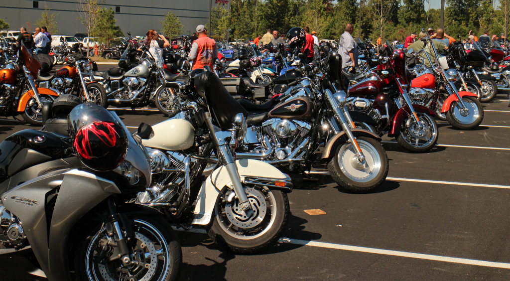 Richmond Harley-Davidson celebrated the opening of its new facility in Northlake. Photos by Burl Rolett.