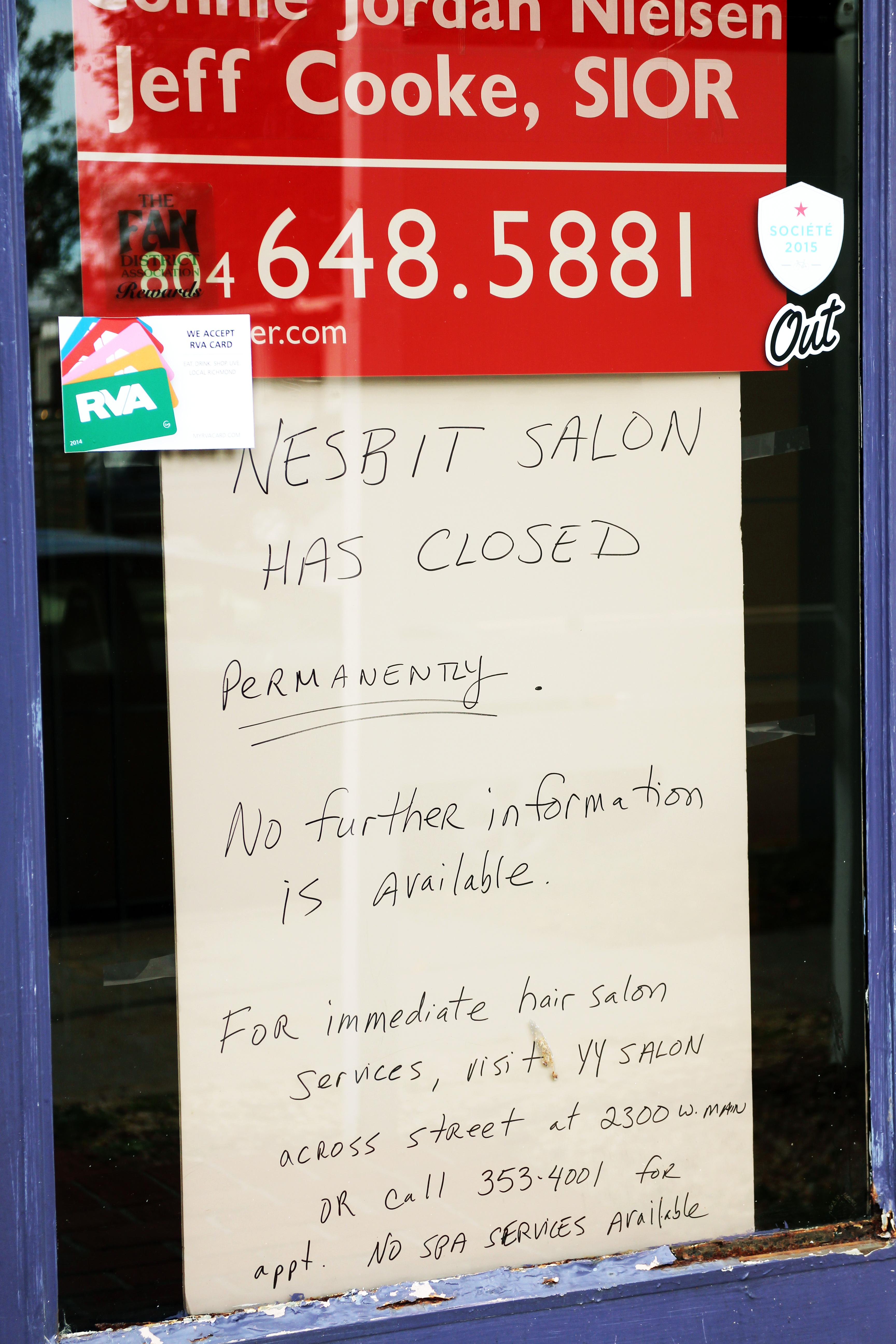 Salons Sudden Shutdown Sparks Lawsuit Richmond Bizsense
