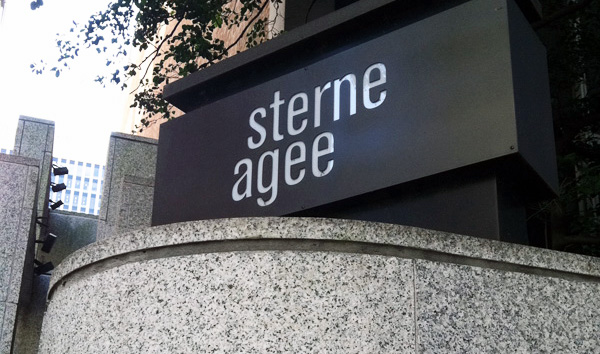 Sterne Agee's Richmond office at  707 E. Main St. (Photo by Michael Schwartz.)