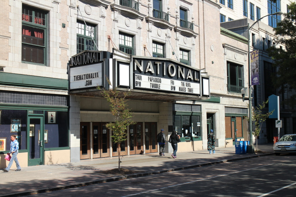 The National music venue on East Broad Street downtown was sold for $6.7 million last week. Photo by Evelyn Rupert.